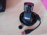 Tevion webcam & Cosonic mic