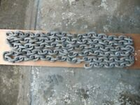 BOAT CHAIN 3/4 INCH (19 MM) GALVANISED 5.5 METRE LENGTH WEIGHT 33 KILOS