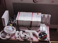 Nintendo Wii and Extra`s