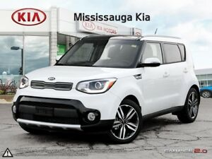 2018 Kia Soul EX Tech LEATHER|PANO ROOF|NAVI|HTD EVERYTHING