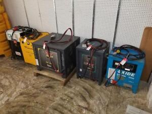 Forklift Battery Chargers - Starting at $499!