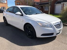 2010 (10) VAUXHALL INSIGNIA 2.0 ES MANUAL DIESEL WHITE 12 months warranty and breakdown service