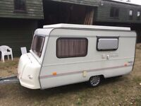 Rapido Golf pop up caravan