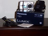 Panasonic TZ1 digital camera, accessories & case