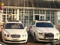 WEDDING CARS PROM HIRE CHAUFFEUR DRIVEN ROLLS ROYCE BENTLEY HUMMER LIMO *WE WILL BEAT ANY QUOTE*