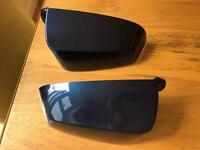 BMW 6 series gran coupe wing mirror covers in tiefseeblau colour