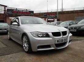 BMW 3 SERIES 2.0 320D EDITION M SPORT 4d 174 BHP 6 SPEED SATNAV (silver) 2008