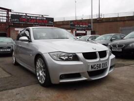 BMW 3 SERIES 2.0 320D EDITION M SPORT 4d 174 BHP (silver) 2008