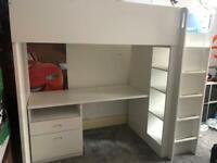 IKEA STUVA high sleeper bed