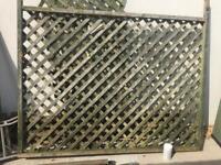 Heavy duty trellis panel