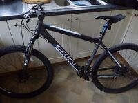 "Carrera Vengeance Mens Mountain Bike 20"" Frame Excellent Condition Only Used Twice"