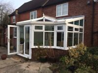 Professionally dismantled conservatory
