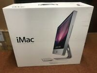 Apple iMac 24 inch 2.66GHz Intel core 2 Duo in original packaging