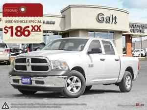 2016 Ram 1500 SXT APPEARANCE PKG   LOW MILAGE   JUST TRADED  