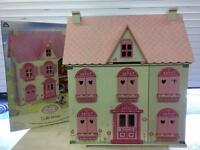 Rosebud Village Dolls House and Rooms