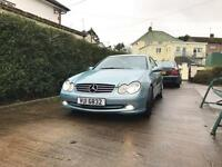 Mercedes Benz CLK270 cdi automatic for swap to estate