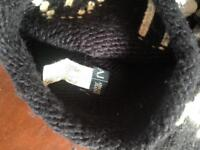 Armani jeans hat and scarf