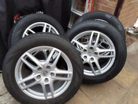 Porsche Cayenne 958 (2011-17) Winter Wheel set, excellent condition