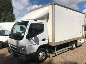 Mitsubishi canter 7.5ton gross 18ft box mint condition