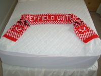 Sheffield United eighties football supporters scarf excellent condition