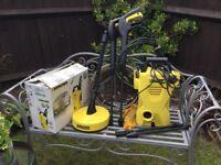 Karcher pressure washer plus attachments now sold