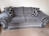 £150 Bargain Sofa, Revolving Chair and Storage Footstool!!