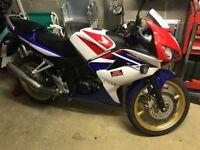 Honda CBR 125 Leaner Legal
