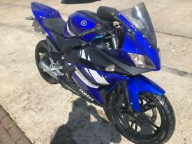 Yamaha yzfr125 px welcome can deliver can accept cards
