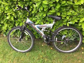 Saxon Dual suspension Ridge ladies bicycle