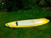 """Circle one 69 7ft 6"""" surfboard plus bag"""