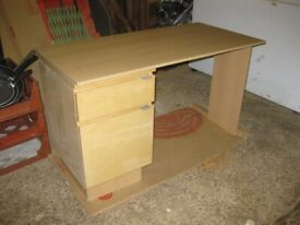 nice computer desk with a4 filing cabinet drawer