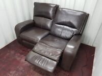 Electric reclining sofa...FREE delivery