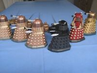 DR.WHO - DALEKS- REMOTE CONTROLED- £12 the lot