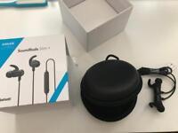 Anker SoundBuds Slim+ Bluetooth headphones brand new