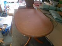 dinning table 5 chairs