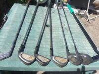 Golf clubs for sale £2 each