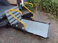 Mercedes Sprinter Volkswagen LT Ratcliff Disabled Access Platform with extras
