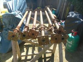 7 Acrows for sale, 4 2mtrs/ 31.8mtrs. used