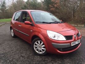 2007 renault scenic low mileage(similar to zafira,focu,cmax and golf