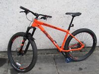 Whyte 905 hardtail mountain bike 2017 As New Condition. Extended warranty cost £1614 new.