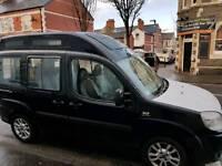 Fiat doblo disabled access