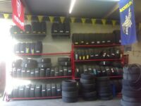 Part worn tyres and New tyres