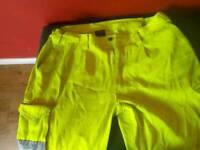 Hi vis trousers xxl