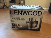 Kenwood Stand Mixer & Accessories Silver