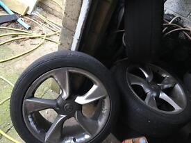 Vauxhall gtc alloys