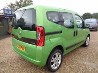 FIAT QUBO 1.3 TD Multijet 16v MyLife Dualogic 5dr (start/stop) Auto (green) 2012