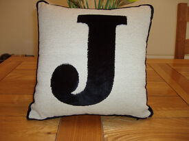 Alphabet cushion - J