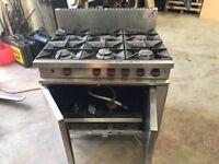 Moorwood Vulcan natural gas oven