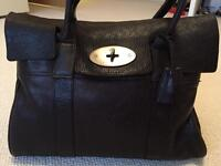 Mulberry Bayswater Chocolate Brown Excellent Condition