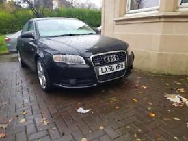 AUDI A4 2.0 TDI S LINE SCARCE 170 BHP MOT 109K FULL SERVICE HISTORY TIMING BELT JUST DONE
